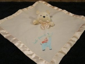 Carters Baby Yellow Security Blanket with Giraffe and Best Friends