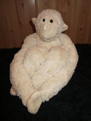 Best Made Toys Cream colored Monkey with long arms and legs