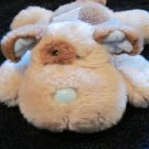 Russ Berrie Plush Puppy Dog Named Swoozy Plush Rattle Toy