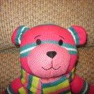 DanDee Collector's Choice knit Sock Teddy Bear