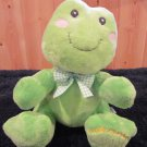 Russ Berrie Plush Toad named Dibbles Toadily Adorable