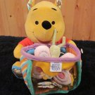 Disney Baby Winnie the Pooh Plush Pooh Bear with Honey pot and Bees
