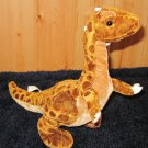 Cuddly Cousins Plush Dinosaur brown and tan