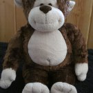 Build A Bear Brown Plush Monkey Super soft