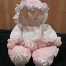 Eden Plush Pink Doll with satin slippers and chimes