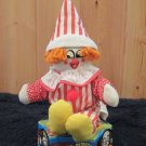 Vintage Ringling Bros and Barnum & Bailey Circus Clown Plush Toy