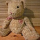 Russ Berrie Tan Teddy Bear named Hucklebeary #18914