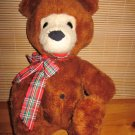 "Vintage 1976 Animal Fair Plush 15"" Brown Bear Sunny"