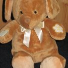 Prestige Baby Plush Tan Puppy Dog Record and Listen