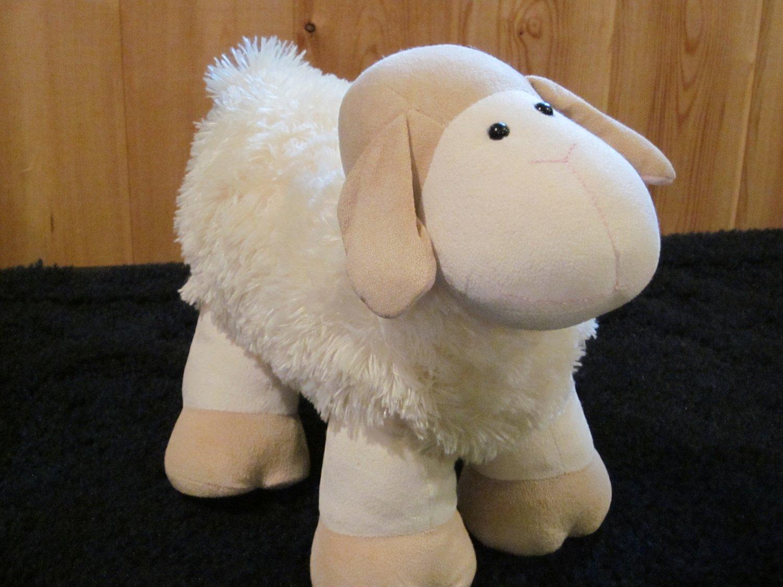Animal Alley Plush Standing Lamb Chenille