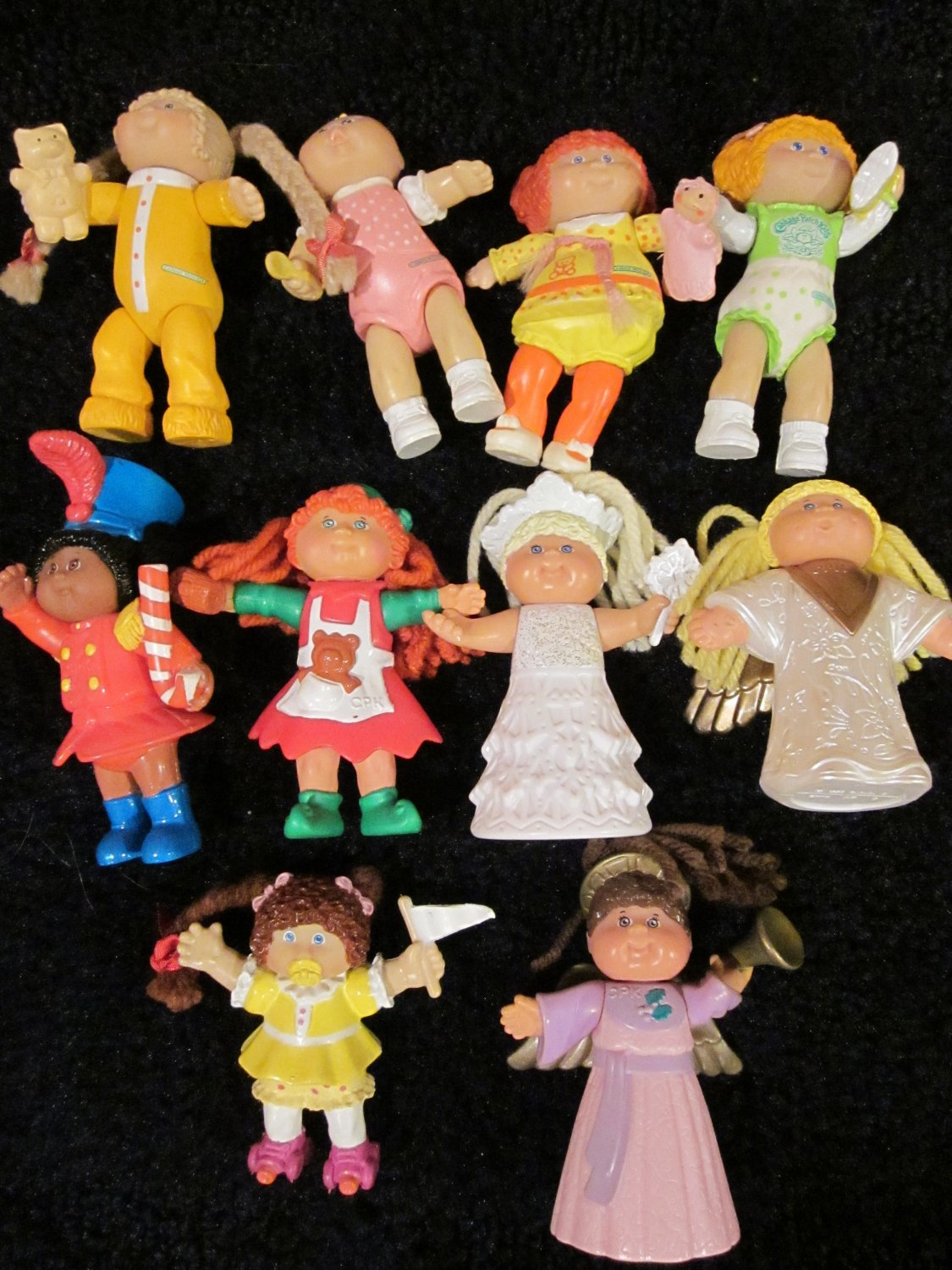 Vintage Cabbage Patch Kids poseable Figures