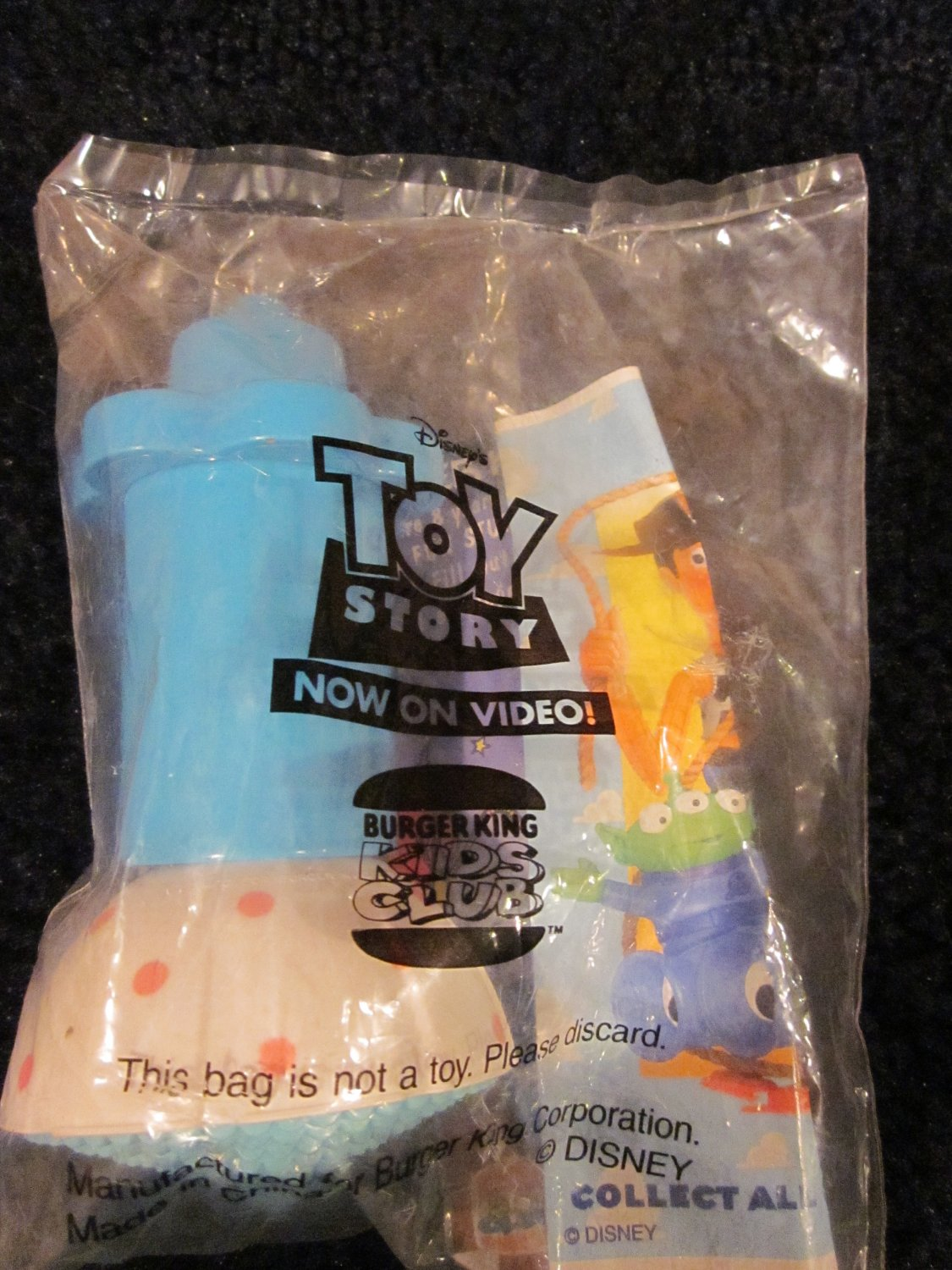 Burger King Toy Story Spinning Little Bo Peep Doll Toy