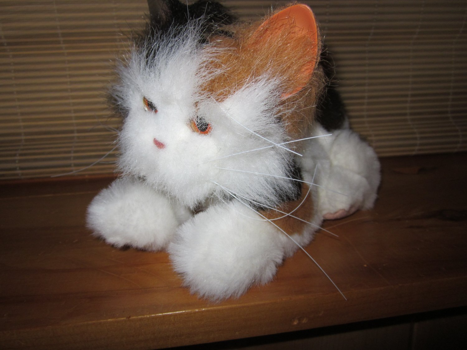 Hasbro FurReal Friends Calico Cat Interactive Toy Kitten Fur Real