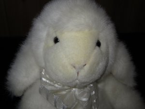 Russ Berrie 12&quot; Lamb  Sheep named Fluffles #4902