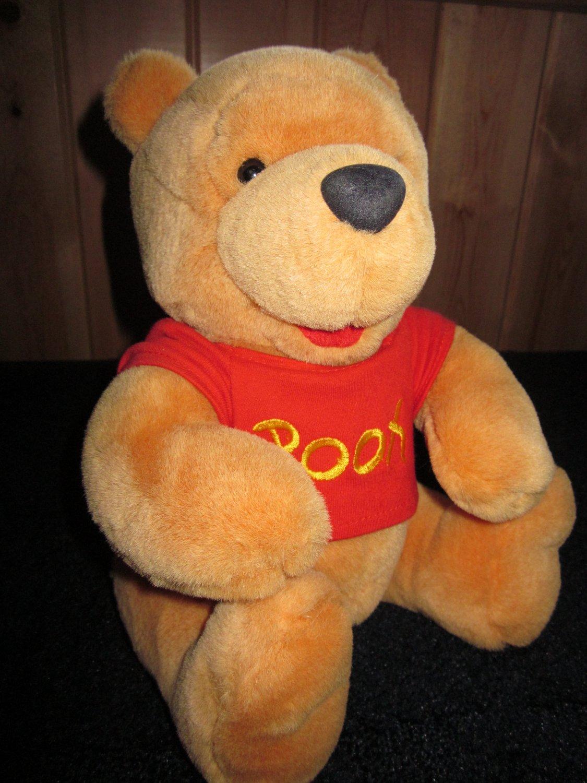 "Walt Disney Co. Plush Winnie the Pooh Plush 12"" Bear with Jointed legs"