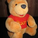 "Walt Disney Co. Plush Winnie the Pooh Plush 12"" Bear with Jointed legs"