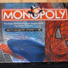 Spiderman Monopoly 2002 Board Game by Parker Brothers