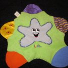 First Years Starfish Star Teether Security Blanket Lovey