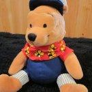 Disney Winnie the Pooh Plush Choo Choo Pooh Bean Bag Lovey