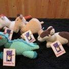 Manhattan Toy Co Plush Totterlings Lucinda Llama Drucus Dragon Cassius Camel Perceval Palomino