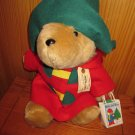 "Sears 16"" Paddington Bear Red coat Green Hat"