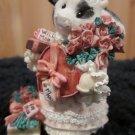 Mary's Moo Moos  257451 I'm Just a Cow who can't say No February Figurine