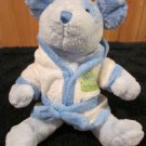 Carters Blue Puppy Dog named Baby Cuddles Just One Year Plush dog