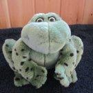 Gund Plush Frog named Jeremiah 6106 Croaking frog