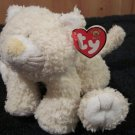 Baby TY  Plush Cream colored Kitty cat named Kutie Kat