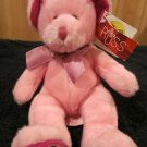 Russ Berrie Plush Pink Bear Aries