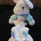 First Peek Rabbit Musical Crib Toy in Bunny Slippers