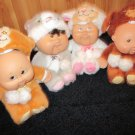 CPK Snugglie Dolls by Cabbage Patch dressed in animal Costumes