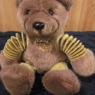 Slinky Bear Plush Brown Teddy Bear