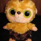 Aurora YooHoo Friends Plush Brown and Gold Capuchin Monkey Roddee