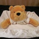 Disney Store Winnie the Pooh Bear Yellow Security Blanket Gown Style