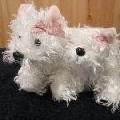 Ganz White Terrier And Lil' Kinz white terrier Webkinz no Codes
