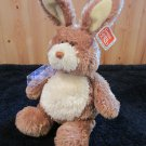 Gund Bobtail Cream Plush Bunny Rabbit  with posable ears 36324