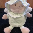 Baby TY Blessings to Baby Mint green Doll with Wings Love to Baby