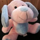 Best Made Toys Plush soft Pink Blue Puppy dog