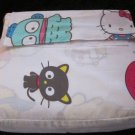 Hello Kitty and Friends three Piece Twin Size Sheet Set New