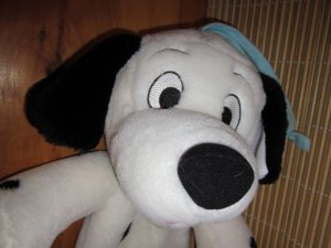 Disney 101 Dalmatians Puppy Dog Musical Crib Toy plush