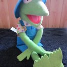 "Kermit the Frog 18"" Plush Doll 1993 Jim Henson by Kid Dimension/ Hasbro"