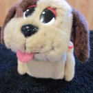 Mattel Barking Dog by Pound Puppies Plush Toy Moves