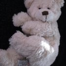 Sunkid german made Plush Teddy bear Creamy chenille with brown nose