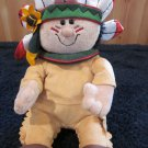 Gund Plush Indian Named Big Chief #88348