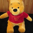 Disney Plush Floppy Super Soft Winnie The Pooh Bear