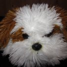 Aurora Dog Named Murphy Floppy shaggy Lhasa  White Brown