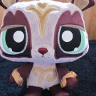 Littlest Pet Shop Online Sassiest Panda Lilac Gold Plush animal