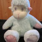 First & Main Pastel Baby Zoo Plush Green Monkey