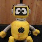 2009 Yo Gabba Gabba Plex Plush Doll Talking Interactive Robot